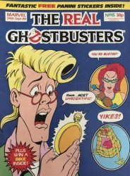 Marvel UK's The Real Ghostbusters Issue # 15