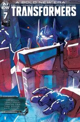 IDW Publishing's Transformers Issue # 7