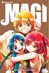 Viz Media's Magi: The Labyrinth of Magic Soft Cover # 8