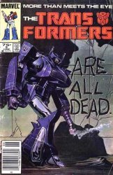 Marvel Comics's Transformers Issue # 5-3rd print