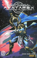Graphic India's Grant Morrison's: Avatarex - Destroyer of Darkness Issue # 3b