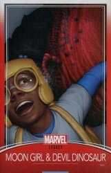 Marvel Comics's Moon Girl and Devil Dinosaur Issue # 25e