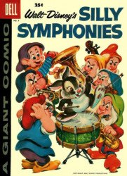 Dell Publishing Co.'s Silly Symphonies Issue # 8