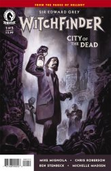 Dark Horse's Witchfinder: City of the Dead Issue # 1