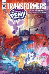 IDW Publishing's My Little Pony / Transformers: Friendship in Disguise Issue # 1