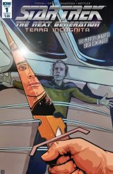 IDW Publishing's Star Trek: The Next Generation - Terra Incognita Issue # 1