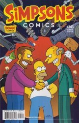 Bongo Comics's Simpsons Comics Issue # 243