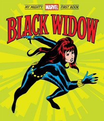 Sabraman's Black Widow: My Mighty Marvel First Book Hard Cover # 1