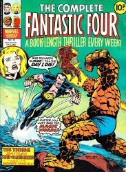 Marvel UK's Complete Fantastic Four Issue # 15