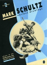 Flesk Publications's Mark Schultz Various Drawings Hard Cover # 2