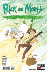 Oni Press's Rick and Morty Issue # 51b