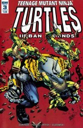 IDW Publishing's Teenage Mutant Ninja Turtles: Urban Legends Issue # 3b