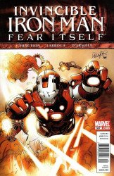 Marvel Comics's Invincible Iron Man Issue # 507b