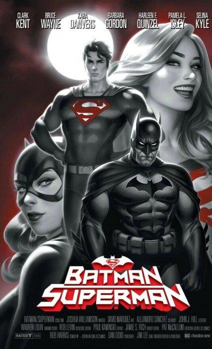 Justice League 1 DC 2018 NM Tyler Kirkham Variant Superman Batman