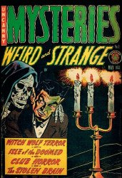 PS Artbooks's Pre-Code Classics: Mysteries: Weird and Strange Hard Cover # 1b