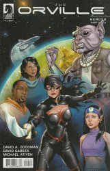 Dark Horse Comics's Orville Issue # 4
