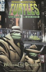 IDW Publishing's Teenage Mutant Ninja Turtles: Urban Legends Issue # 10