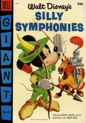 Dell Publishing Co.'s Silly Symphonies Issue # 6b