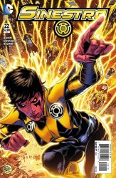 DC Comics's Sinestro Issue # 22