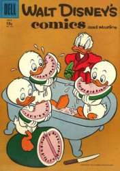 Dell Publishing Co.'s Walt Disney's Comics and Stories Issue # 202b