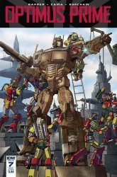 IDW Publishing's Optimus Prime Issue # 7sub