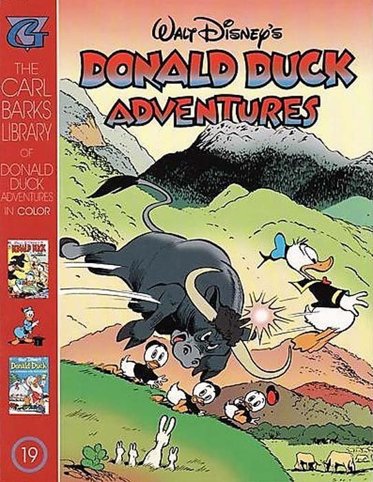 Gladstones Carl Barks Library Of Walt Disneys Donald Duck Adventures In Color Issue 19