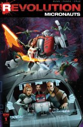 IDW Publishing's Micronauts: Revolution Issue # 1ri