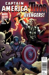Marvel Comics's Captain America & Thor: Avengers! Issue # 1b