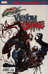 Marvel Comics's True Believers: Absolute Carnage - Venom vs Carnage Issue # 1