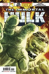Marvel Comics's Immortal Hulk: The Best Defense Issue # 1