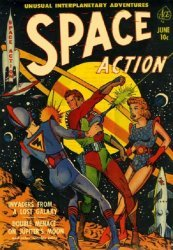 Ace Magazines's Space Action Issue # 1
