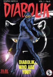 Scorpion Productions Inc.'s Diabolik Soft Cover # 6