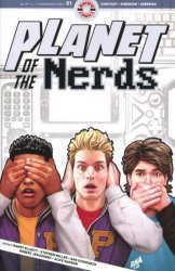 Ahoy Comics's Planet of the Nerds Issue # 1