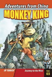 JR Comics's Adventures from China: Monkey King Issue # 3