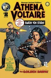 Action Lab Entertainment's Athena Voltaire Issue # 8b