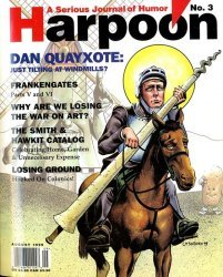 Ross Periodicals's Harpoon: A Serious Journal of Humor Issue # 3