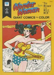 Whitman's Giant Comics to Color: Wonder Woman Soft Cover # 1