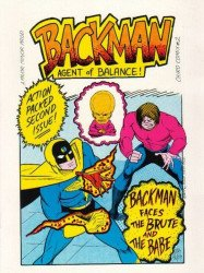 Major-Minor Productions's Chiro Comix: Backman, Agent of Balance Issue # 2