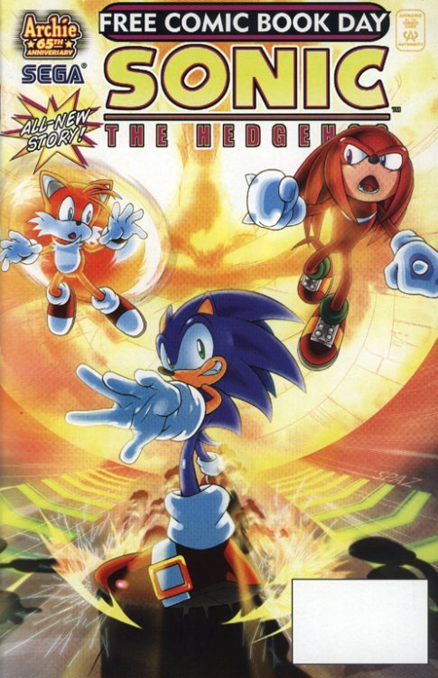 Sonic The Hedgehog Free Comic Book Day 2007 Archie -5616