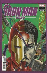 Marvel Comics's Iron Man 2020 Issue # 4b