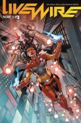 Valiant Entertainment's Livewire Issue # 3b