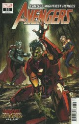 Marvel Comics's Avengers Issue # 33c