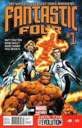 Marvel Comics's Fantastic Four Issue # 1b