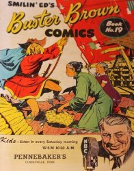 Buster Brown Shoes's Buster Brown Comics Issue # 19pennebakers
