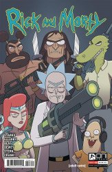 Oni Press's Rick and Morty Issue # 58