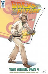 IDW Publishing's Back to the Future Issue # 25b