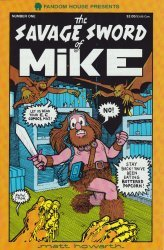 Fandom House's The Savage Sword of Mike Issue # 1