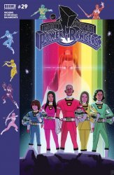 BOOM! Studios's Mighty Morphin Power Rangers Issue # 29b