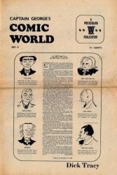 Memory Lane Publications's Captain George's Comic World Issue # 11