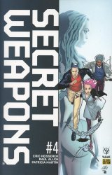 Valiant Entertainment's Secret Weapons Issue # 4g